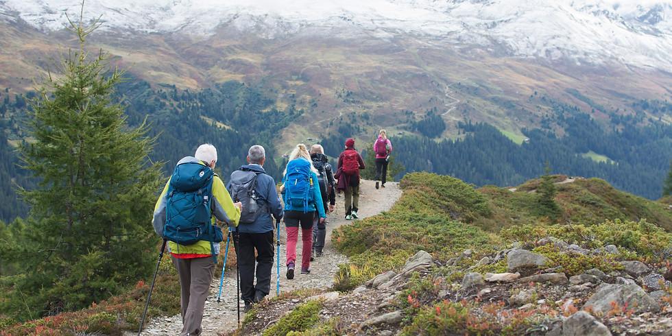 Tåg- och vandringsresa Davos