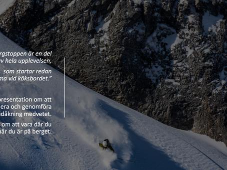 Digitala föreläsningar: skidor och klättring