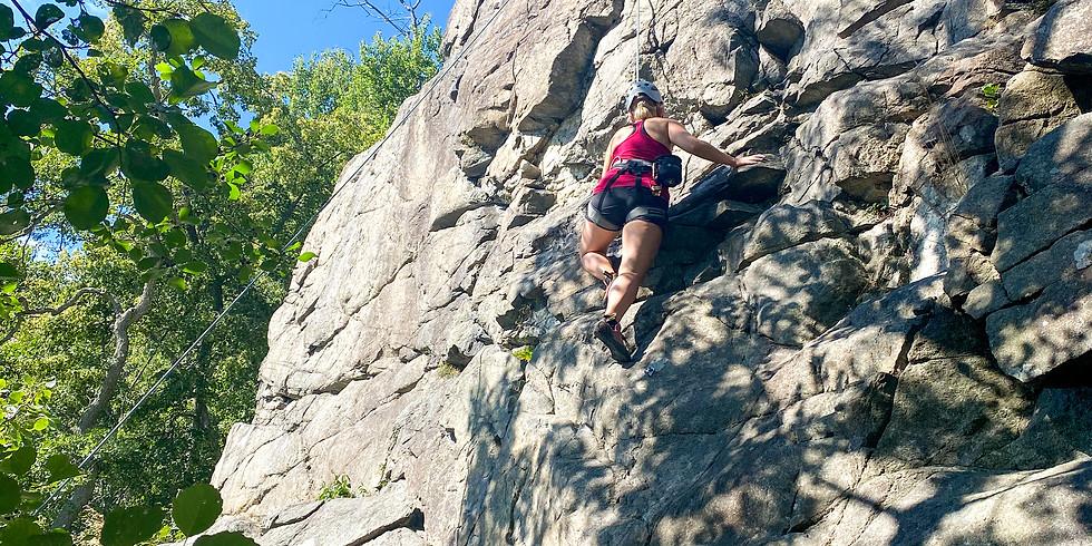 Grundkurs klättring ute