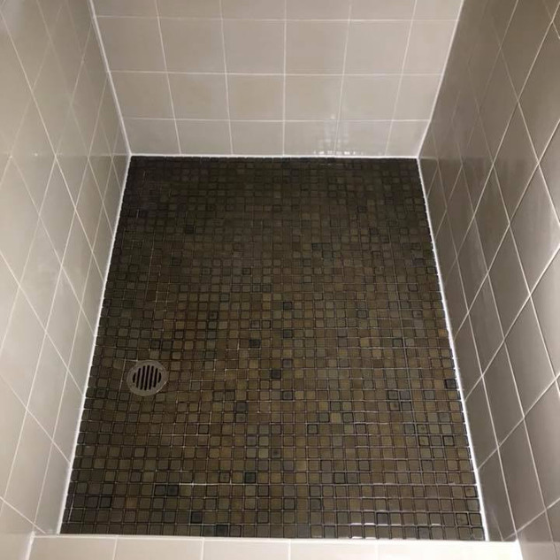 after shower sealing