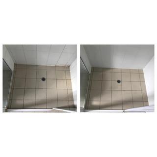 Before & after shower sealed Gold Coast