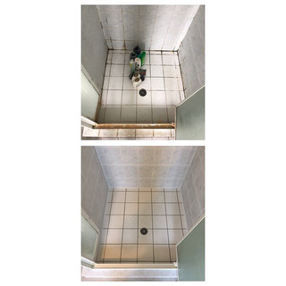 Before & after shower sealing Gold Coast