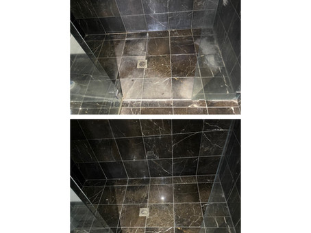 Marble-ous Shower