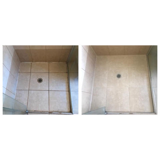 Before & after shower seal Gold Coast