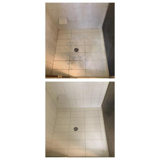 before & after shower repair Gold Coast