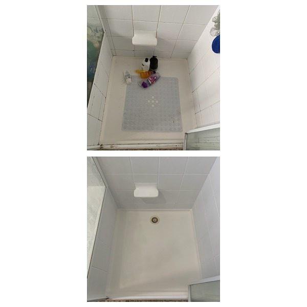 Before & after shower freshen up