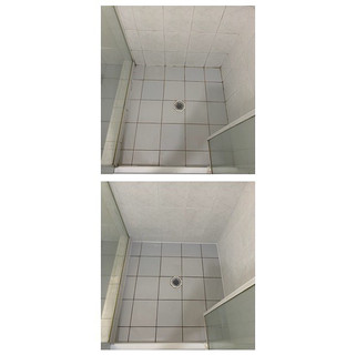 Before & after gallery shower repairs Gold coast