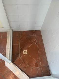 Before sealing shower.jpg