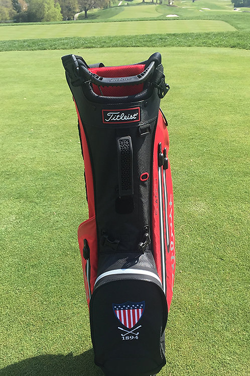 TITLEIST PLAYERS STADRY - black/red/silver