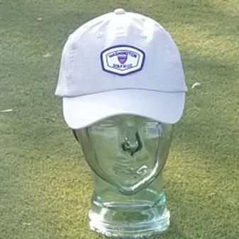 Imperial hat (stone, blue, fuchsia, white)