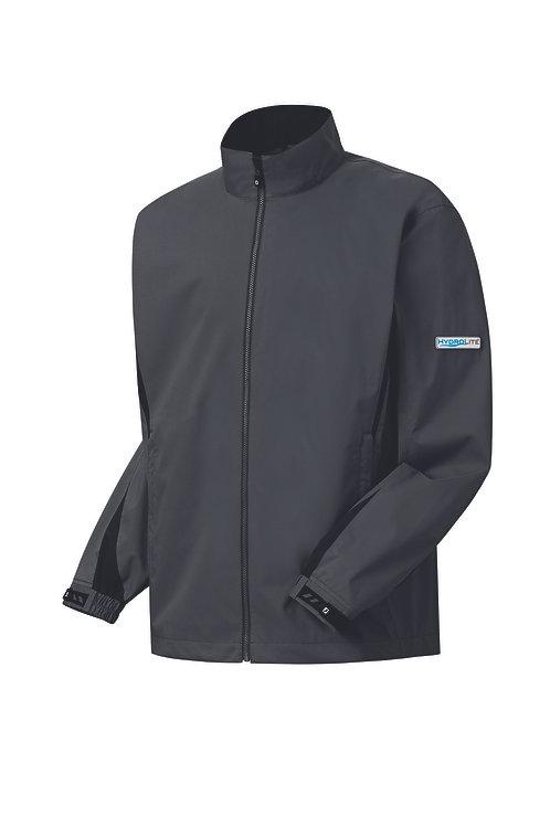 FootJoy Men's HydroLite Rain Jacket (charcoal/black)