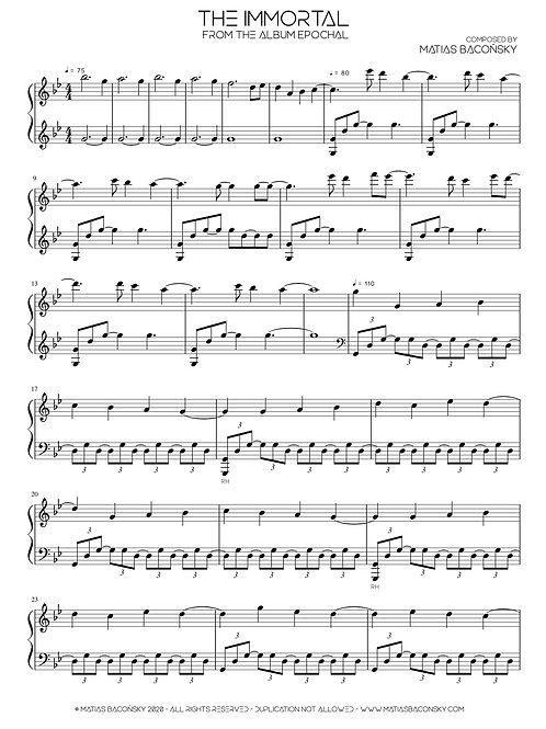 The Immortal (Sheet Music)