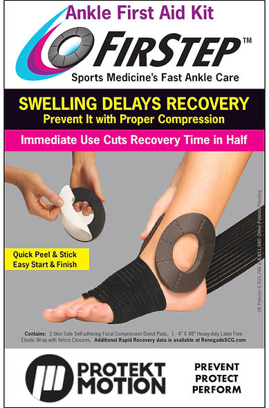 FirStep Ankle First Aid Kit - Cover 864x
