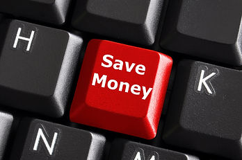 save money for investment concept with a