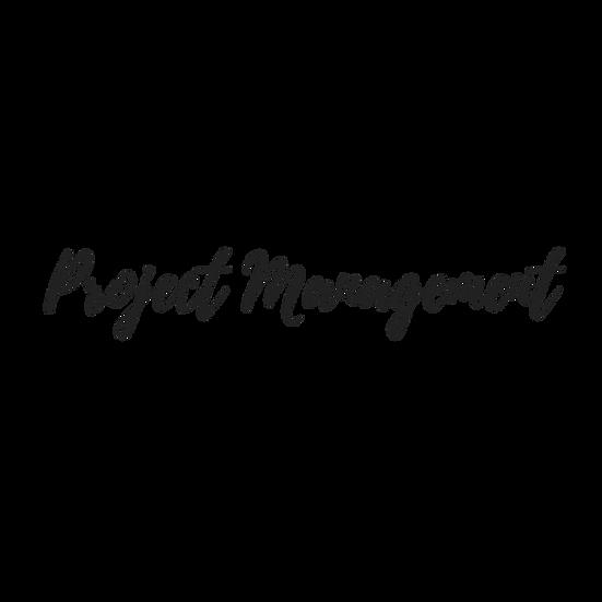 Project Management // OBM
