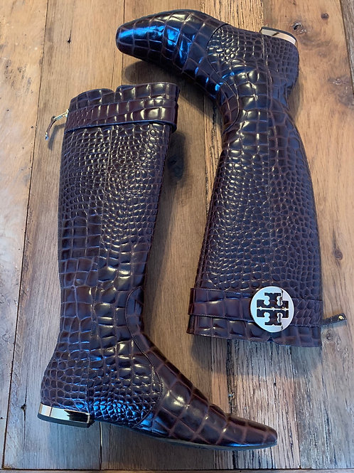 Tory Burch Boots- Brown (CS3)