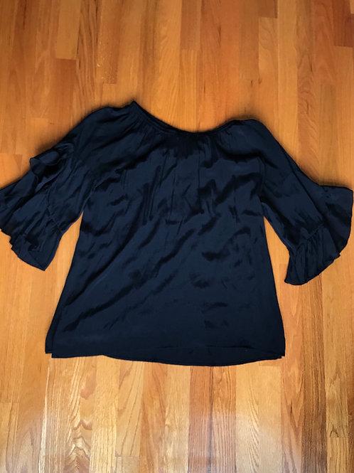 Multiples black blouse -TC27