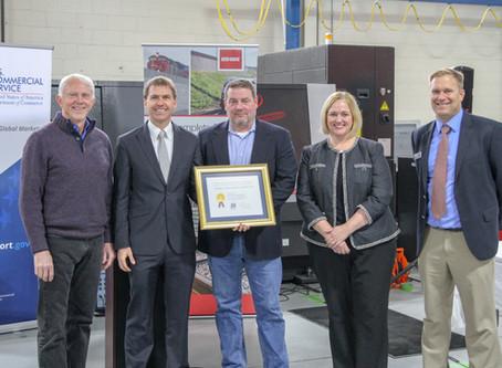 U.S. Congressman Jack Bergman Honors Aster Brands for Exporting Success