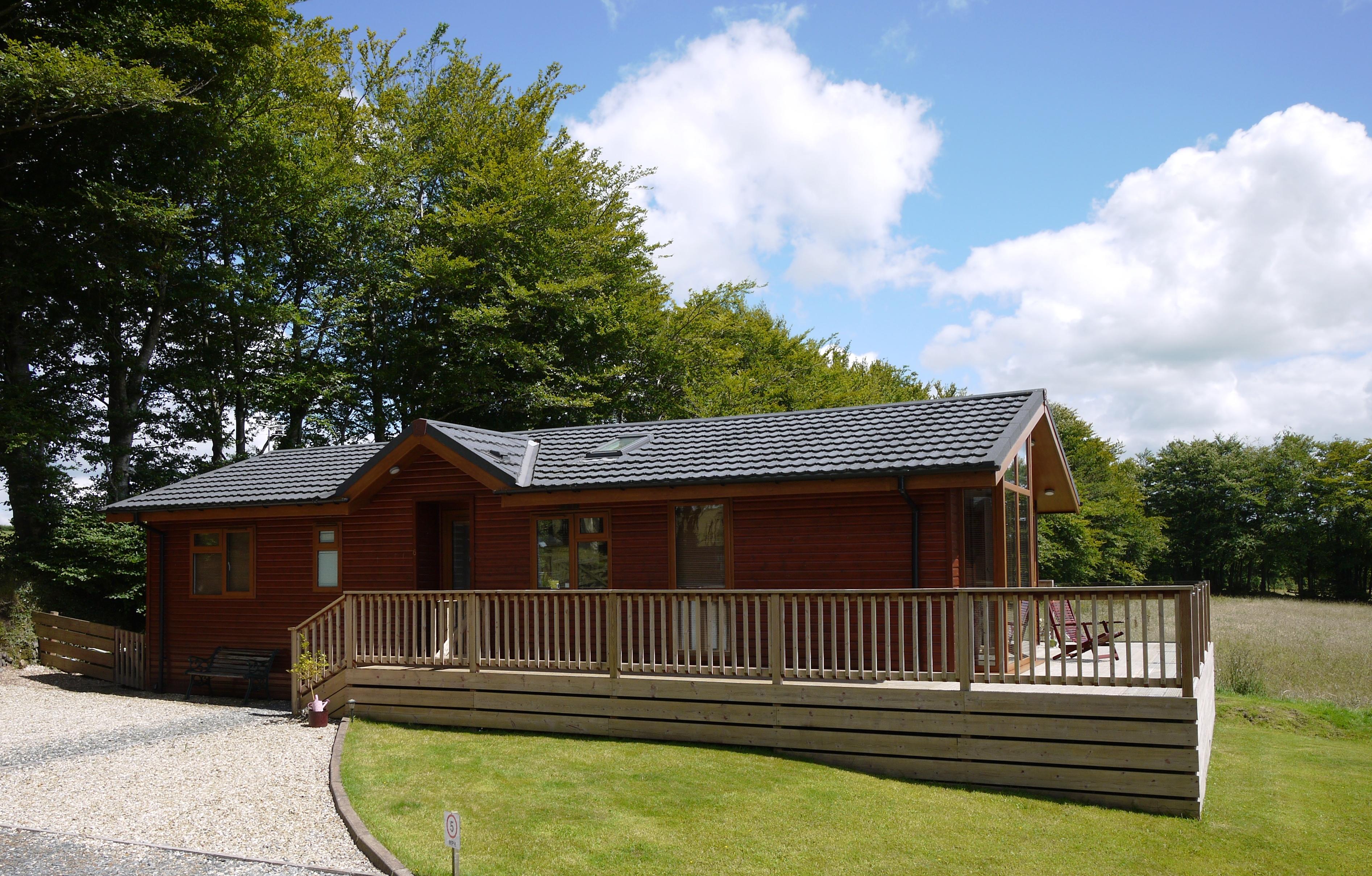 Luxury Lodges for sale at Cedar Lodge Park