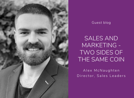 Sales and Marketing - two sides of the same coin