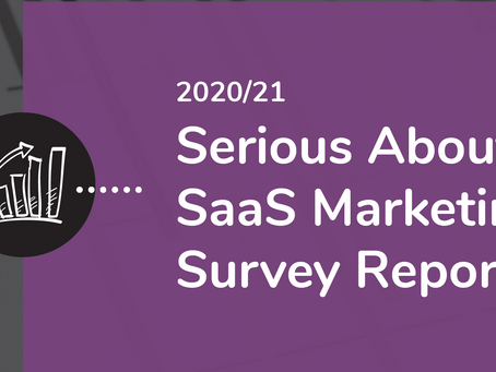 Is your Marketing on or off the scale? Find out in the 'Serious about SaaS' Marketing Survey Report