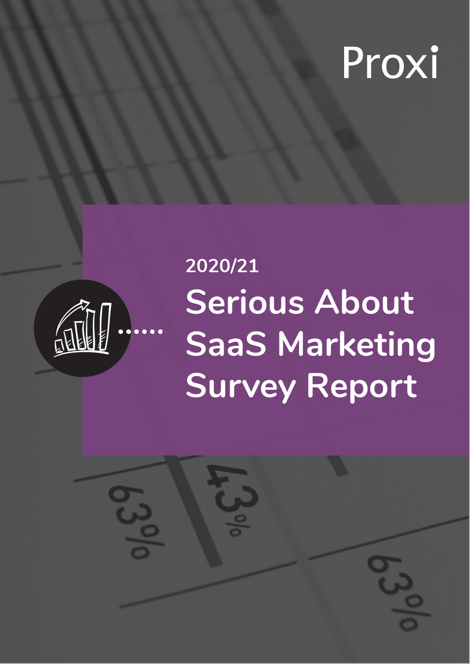 Serious About SaaS marketing Survey Report