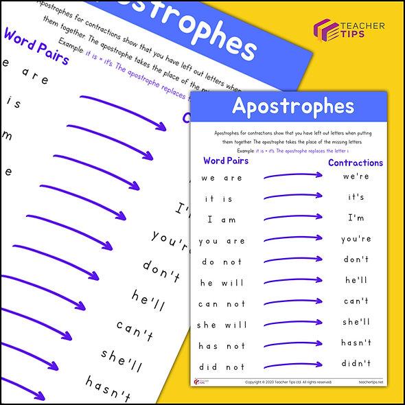 Apostrophes - Poster #1