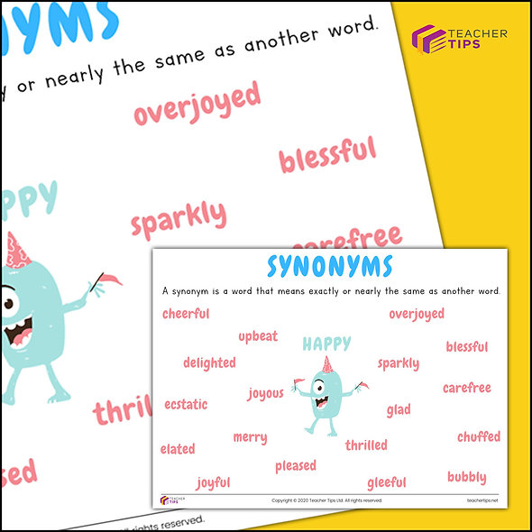Synonyms - Poster