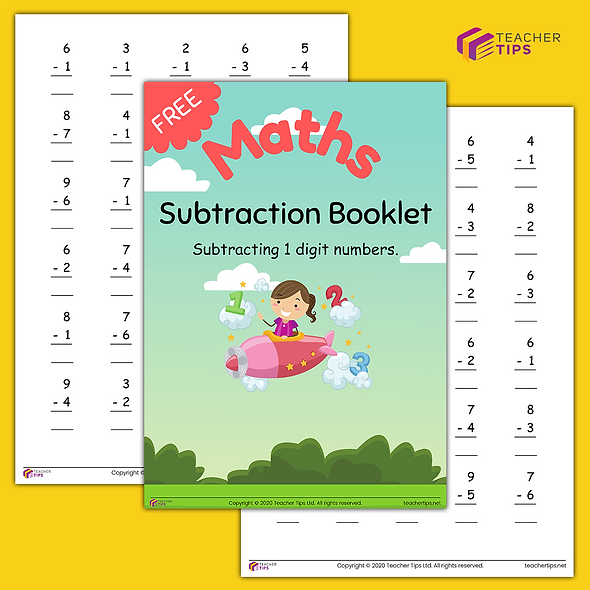 Subtraction - Booklet #1