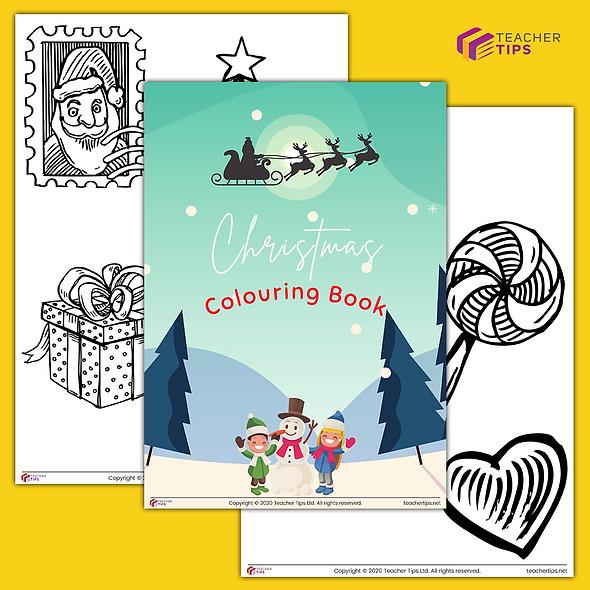 Christmas Colouring Book - #1