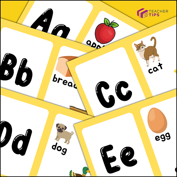 Alphabet Flash Cards - Posters