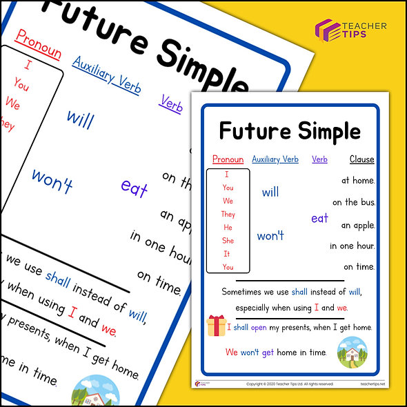 Future Simple - Poster