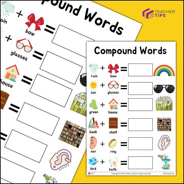 Compound Words #1 - Worksheet