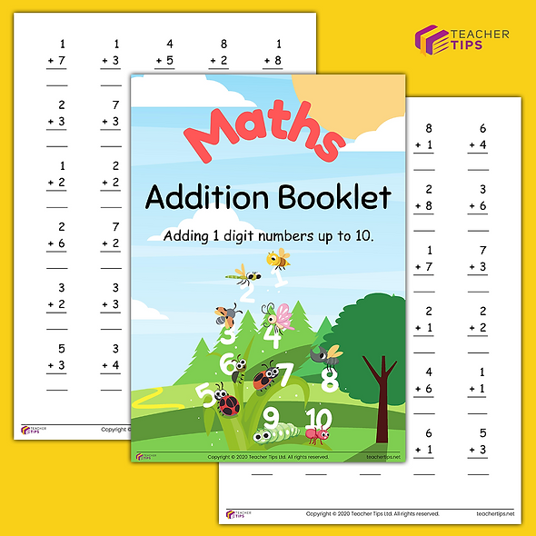 Addition - Booklet #1