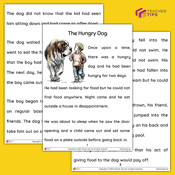 The Hungry Dog - Short Story