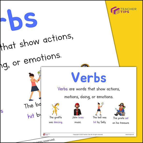 Verbs - Poster
