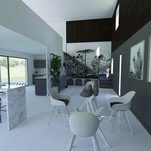 Maison monochrome