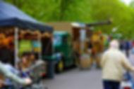 Biologische Festival Catering - Hamburger Foodtruck