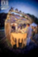Biologische Festival Catering - Kaasfondue stand
