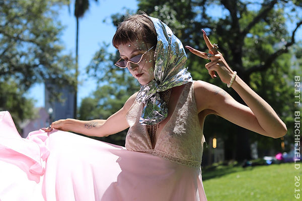 Kizza lilitu, corrijeune collective, new orleans Louisiana