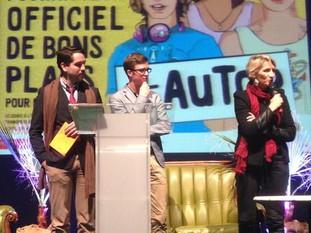 La Région Centre Val de Loire récompensée par le jury jeunes de Cap'Com