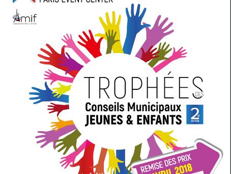 Conseils d'enfants et de jeunes franciliens, candidatez aux Trophées de l'AMIF