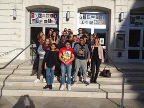 Le CCJ d'Issy-les-Moulineaux accueilli par le CMJ d'Annonay