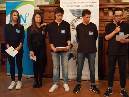 Prix Anacej des jeunes citoyens 2017, les jeunes s'engagent pour leur territoire