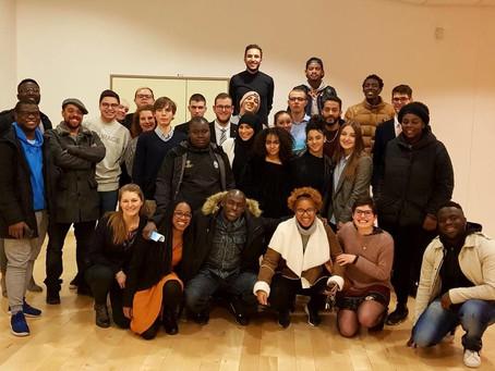 Le Conseil des Jeunes de Fribourg à la rencontre de dispositifs de participation franciliens…