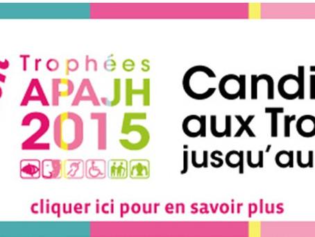 Présentez vos actions en faveur de l'accessibilité pour tous aux Trophées de l'APAJH