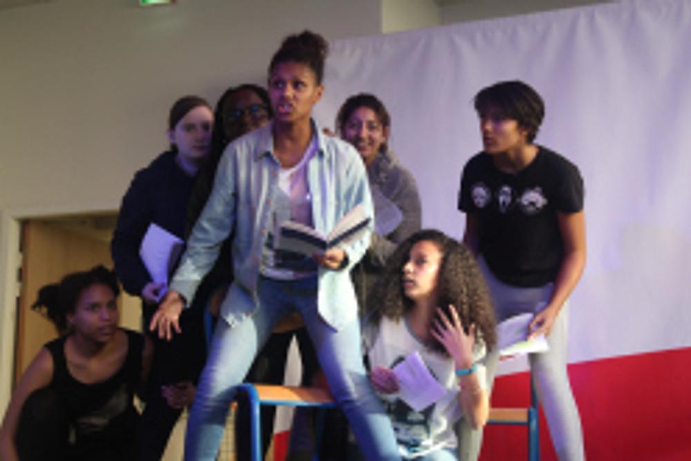 Scène d'expression Villeurbanne Conseil Villeurbannais de la jeunesse