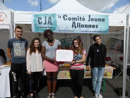 Direction le Sénégal pour la Junior Association du Conseil des Jeunes d'Allonnes