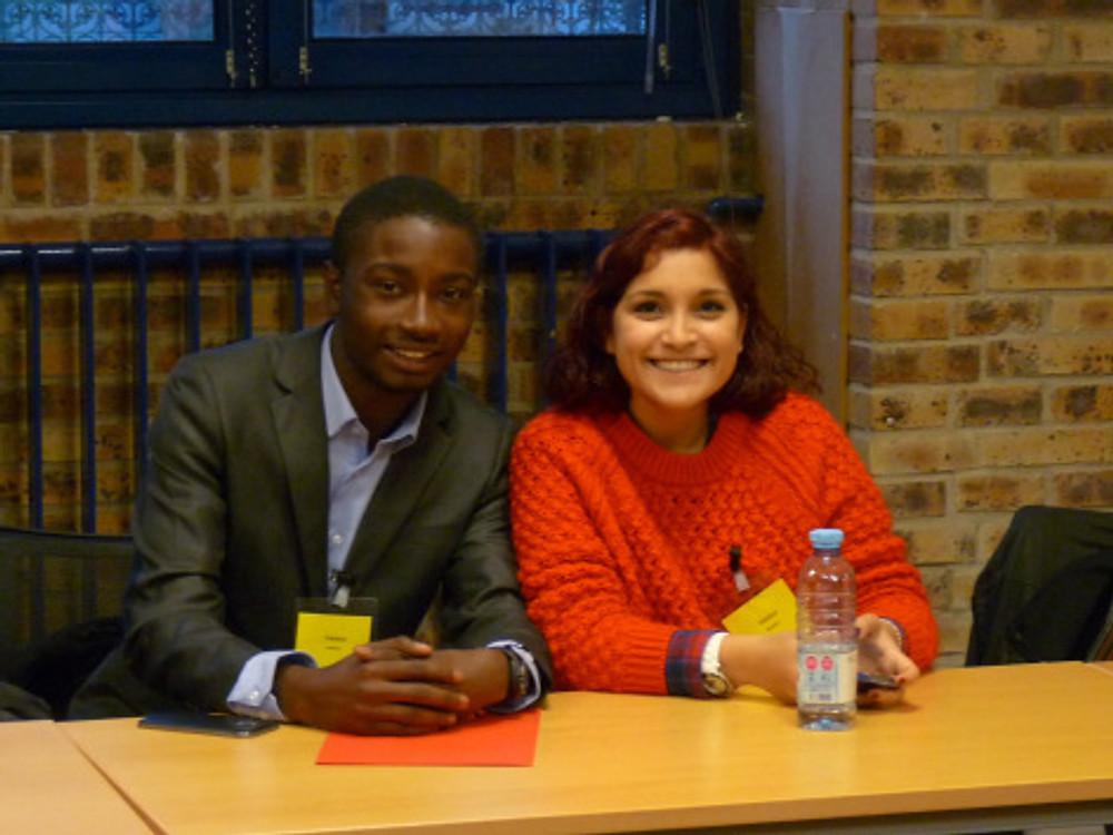 Freddy et Amélie, administrateurs de l'Anacej pour le ComJ ©Anacej