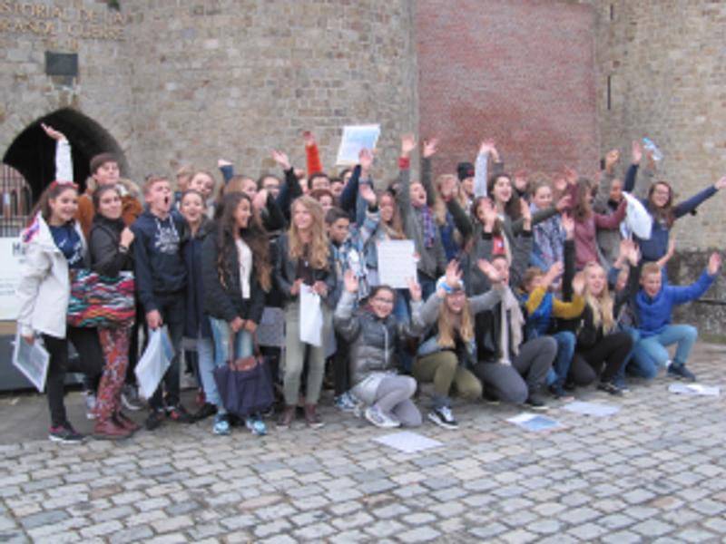 Les jeunes participants du projet ©CDCSomme